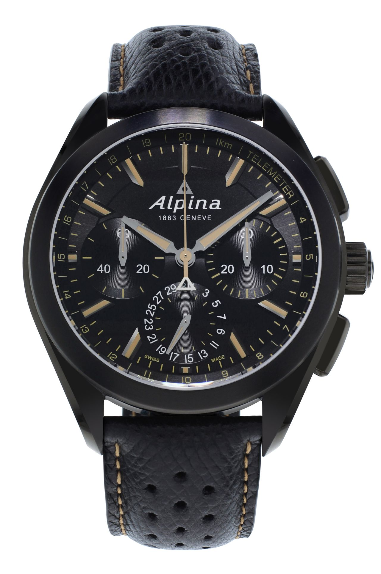 Alpina-Full-Black-Alpiner-4-Manufacture-Flyback-Chronograph-soldat