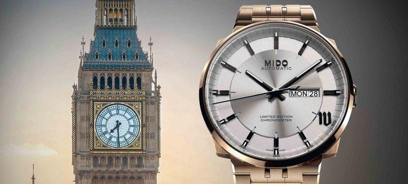 London a csuklón – Mido Big Ben Limited Edition