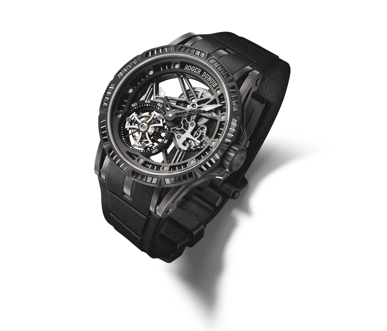 Roger-Dubuis-Excalibur-Spider-Skeleton-Flying-Tourbillon-black