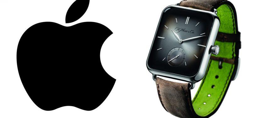 Fityiszt az Apple-nek – H. Moser & Cie Swiss Alp Watch
