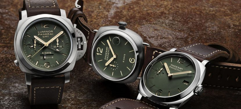 Officine Panerai Green Dial