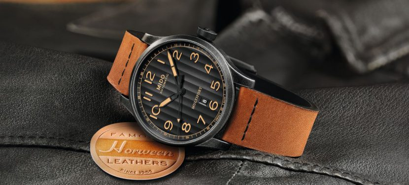 Mido Multifort Escape Horween Special Edition