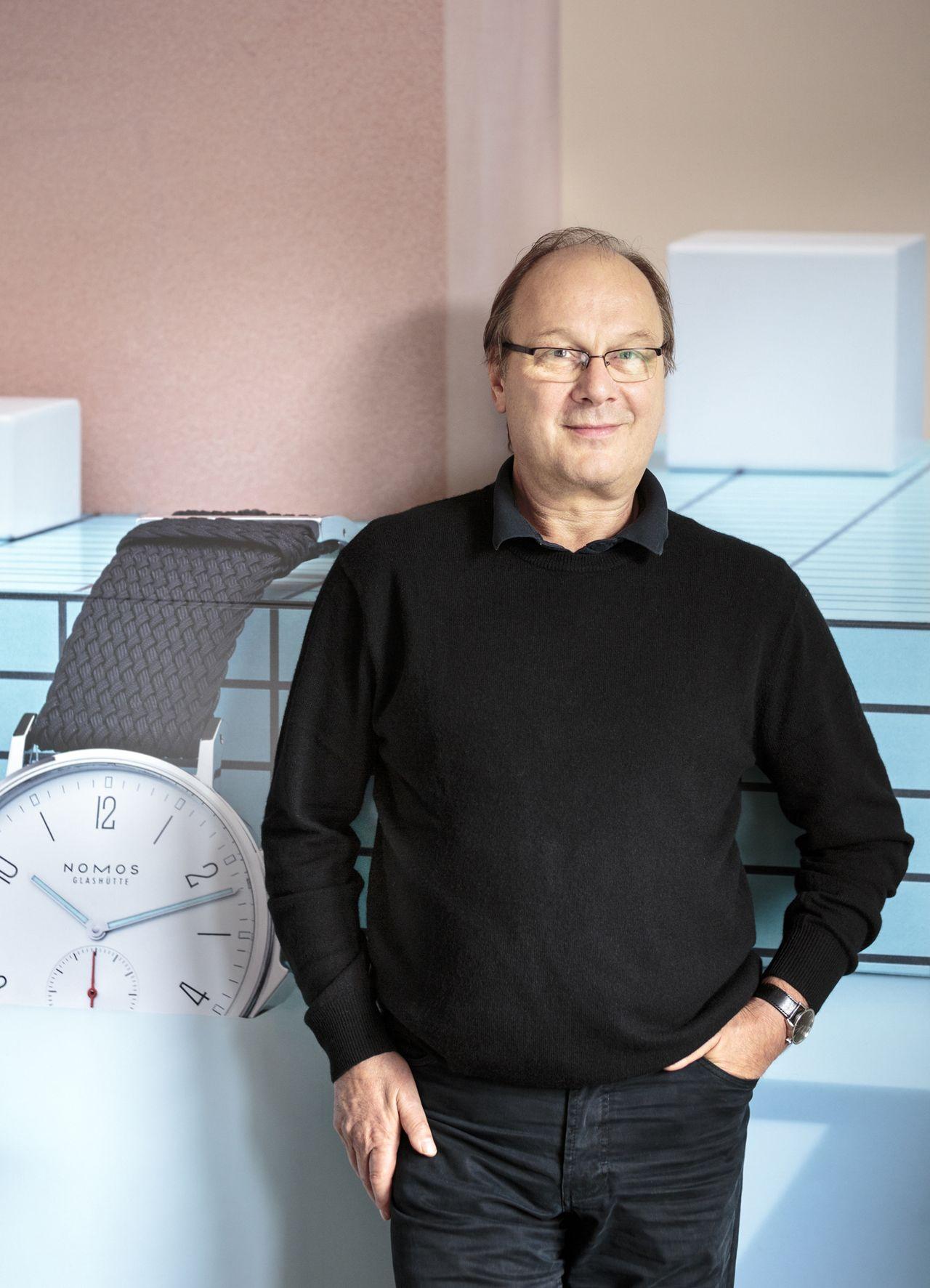Roland Schwertner, a Nomos alapítója