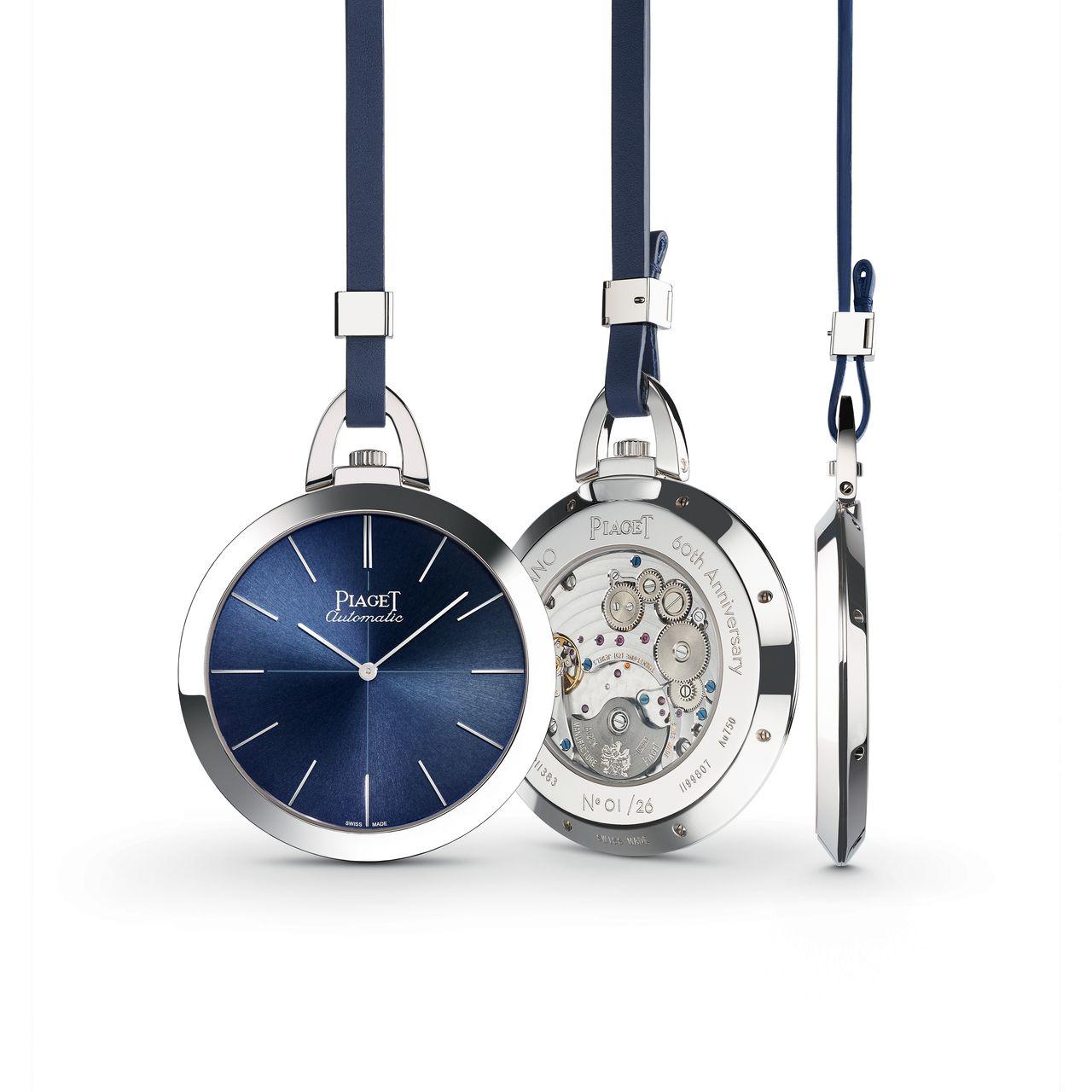 Piaget Altiplano 60th Anniversary Pocket Watch - lapos, nagy és szép a szerkezete