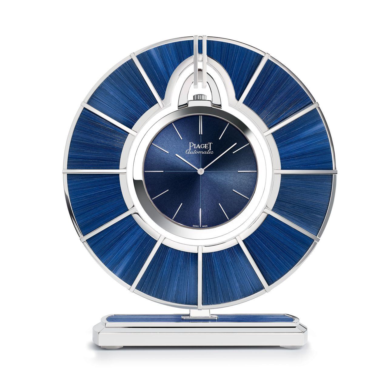 Piaget Altiplano 60th Anniversary Pocket Watch - szalmaszálból is készül számlap