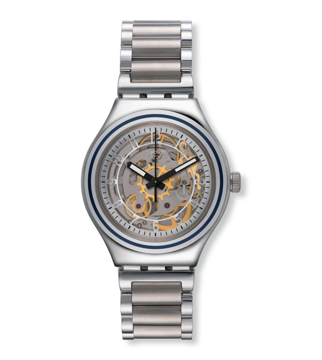 Swatch Irony Uncle Charly - ennyiért teljesen elfogadható csontvázasított óra