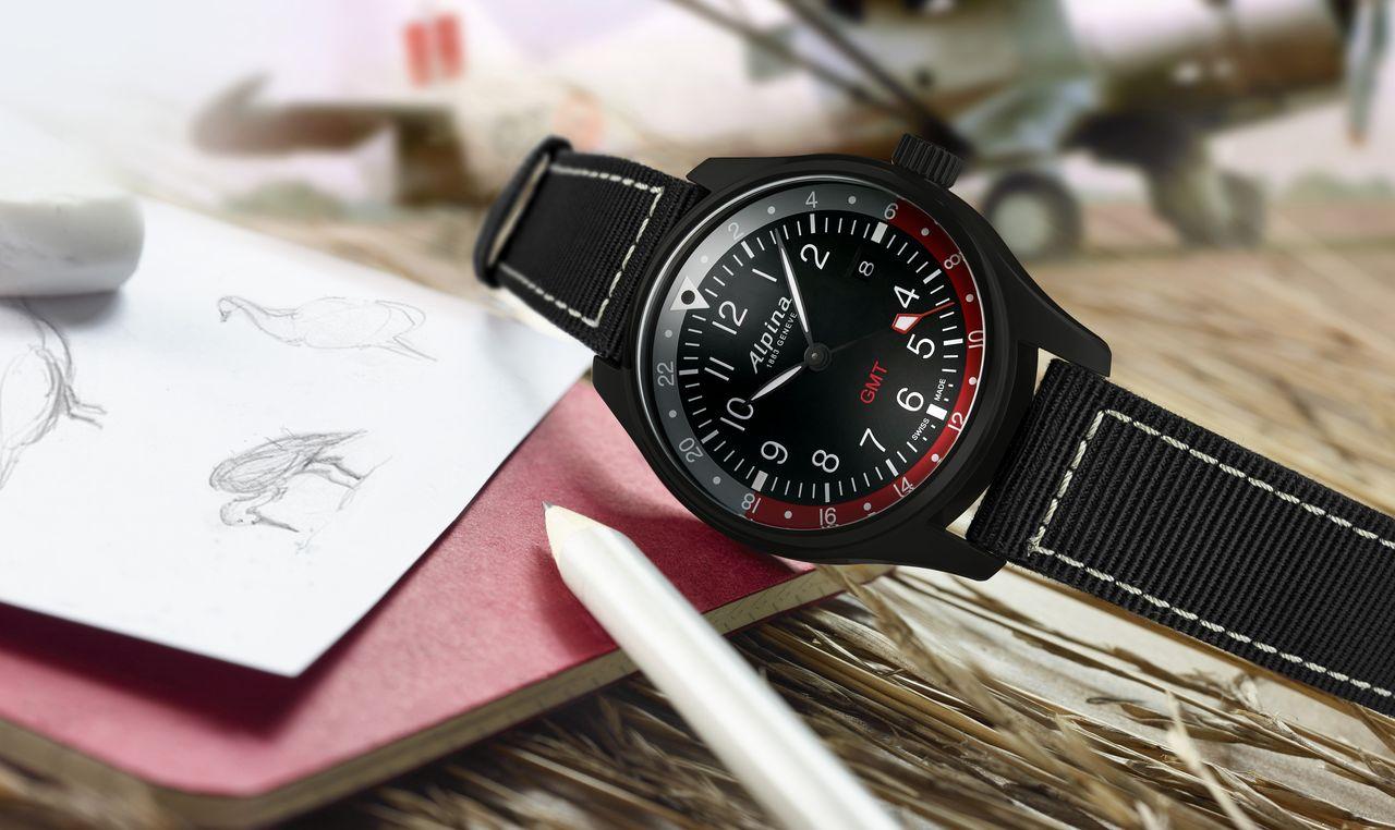 """Alpina Startimer Pilot Quartz GMT - a """"legvadabb"""" változat"""
