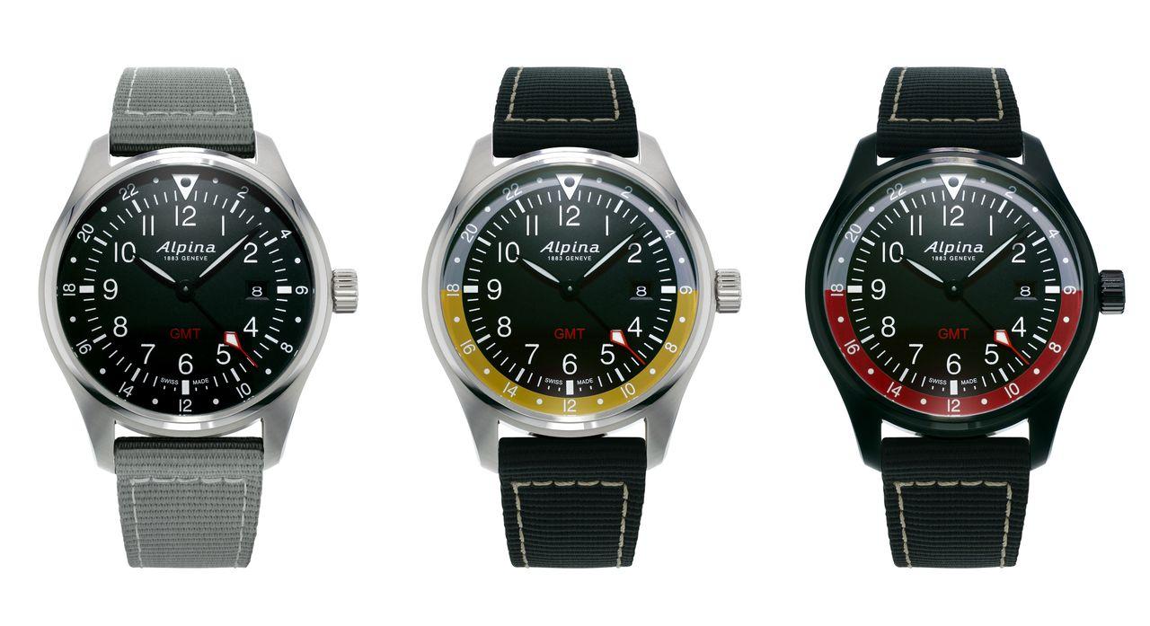 Alpina Startimer Pilot Quartz GMT - AL-247B4S6 / AL-247BBG4S6 / AL-247BR4FBS6 ref. számú modellek