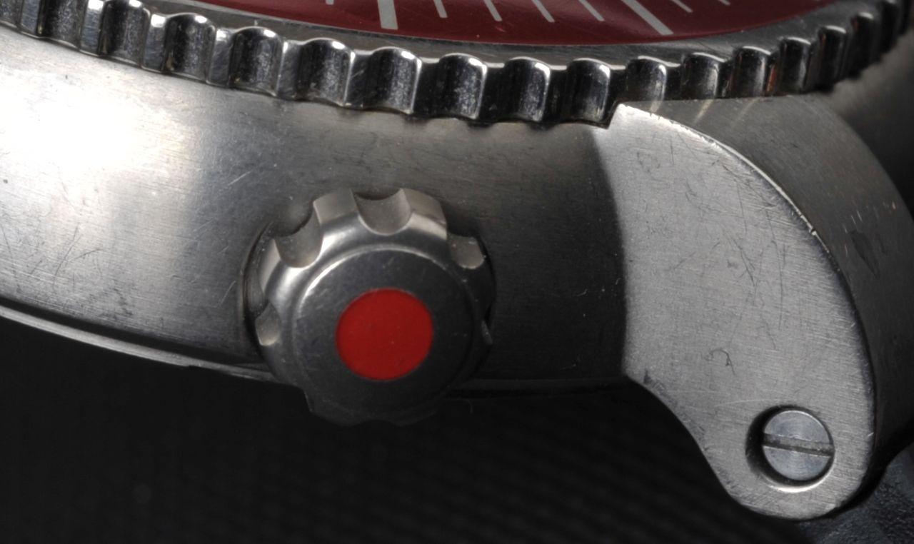 Oris TT1 Titanium 1000m - bőven van mit eltüntetni - Fotó: Koncz Enikő