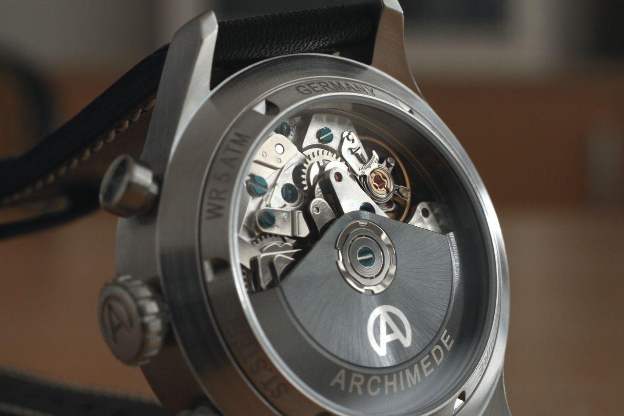 Archimede Pilot Chronograph Tricompax - szép az a Top kivitel