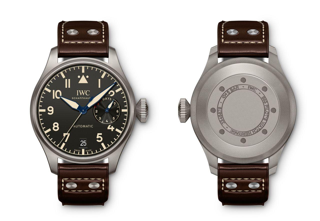 IWC Big Pilot's Watch Heritage - az IW501004 referenciaszámú titán változat