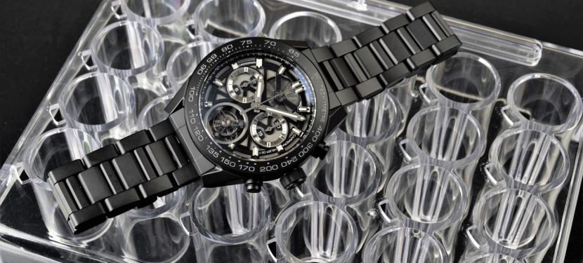 TAG Heuer Carrera Calibre Heuer-02T Tourbillon