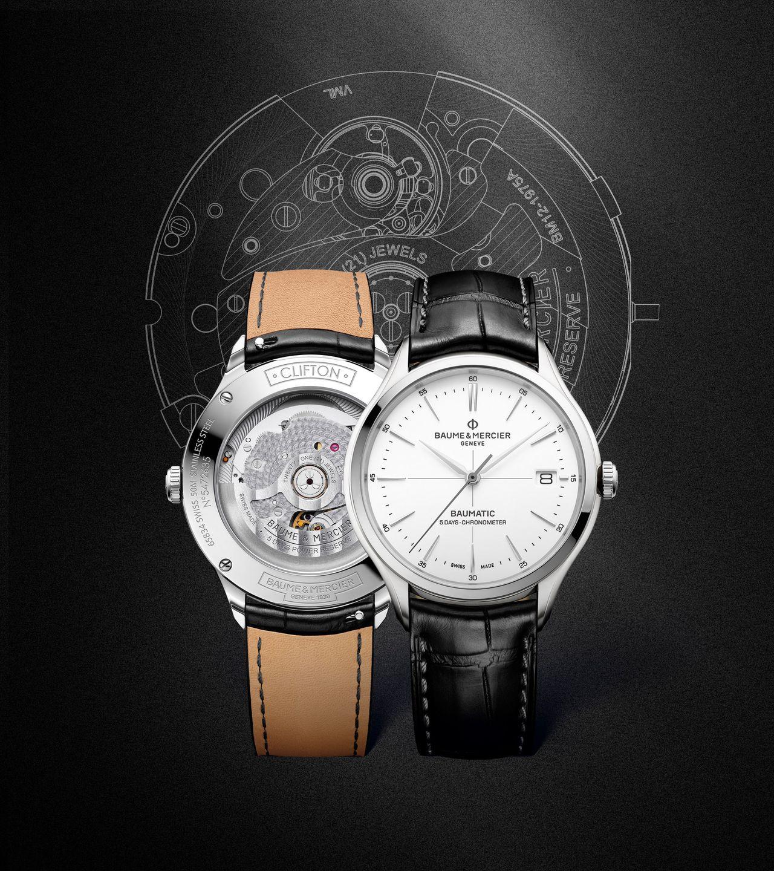 Baume et Mercier Clifton Baumatic - kronométeres változat