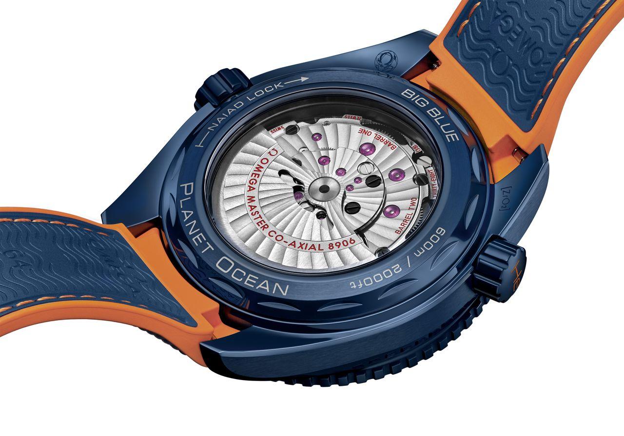 Omega Seamaster Planet Ocean Big Blue - Master Chronometer minősítésű szerkezet - bírja a mágneses mezőket