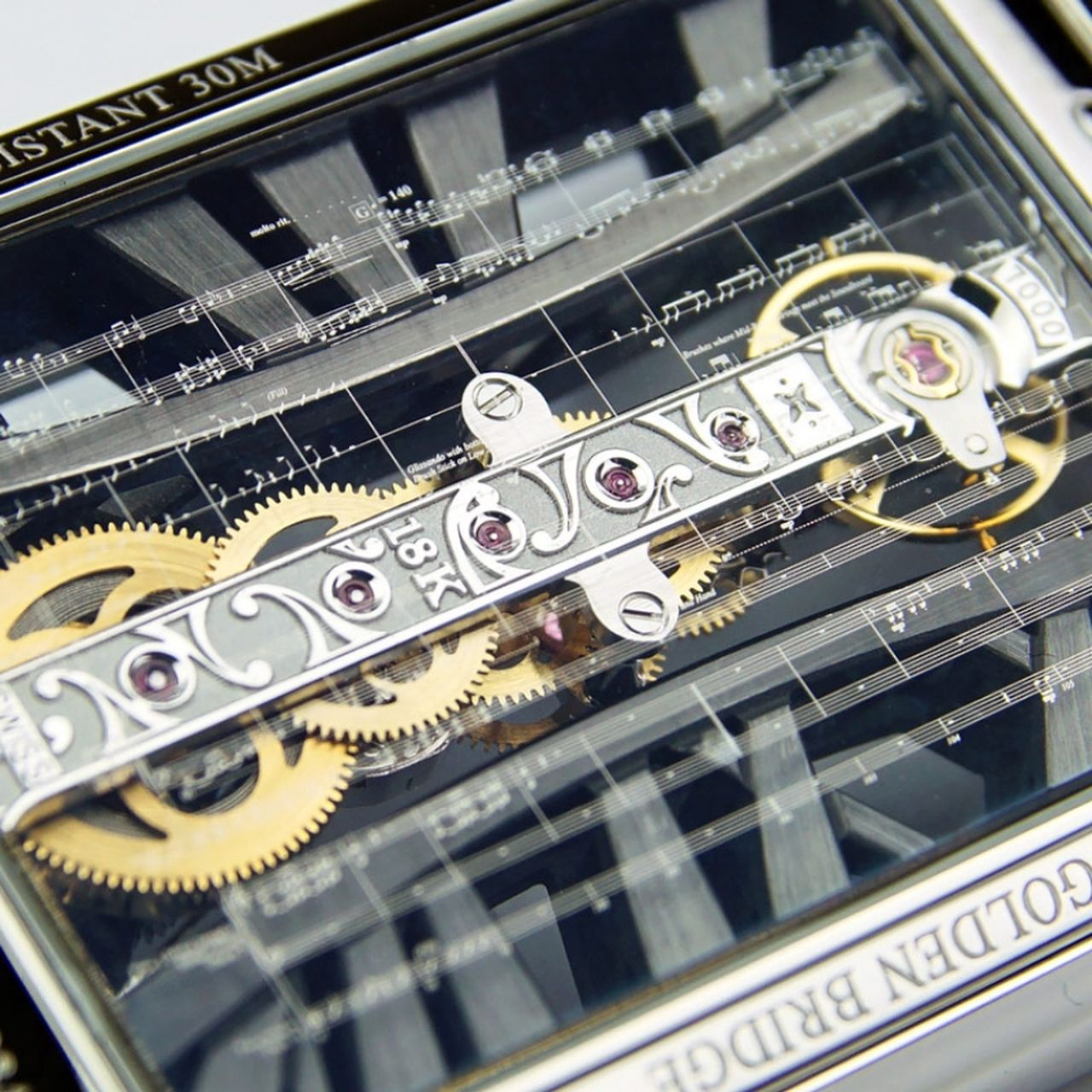 Corum Golden Bridge Rectangle Joachim Horsley - VII. szimfónia, 2. tétel - vajon Beethoven jogdíjat kérne, vagy inkább egy órát