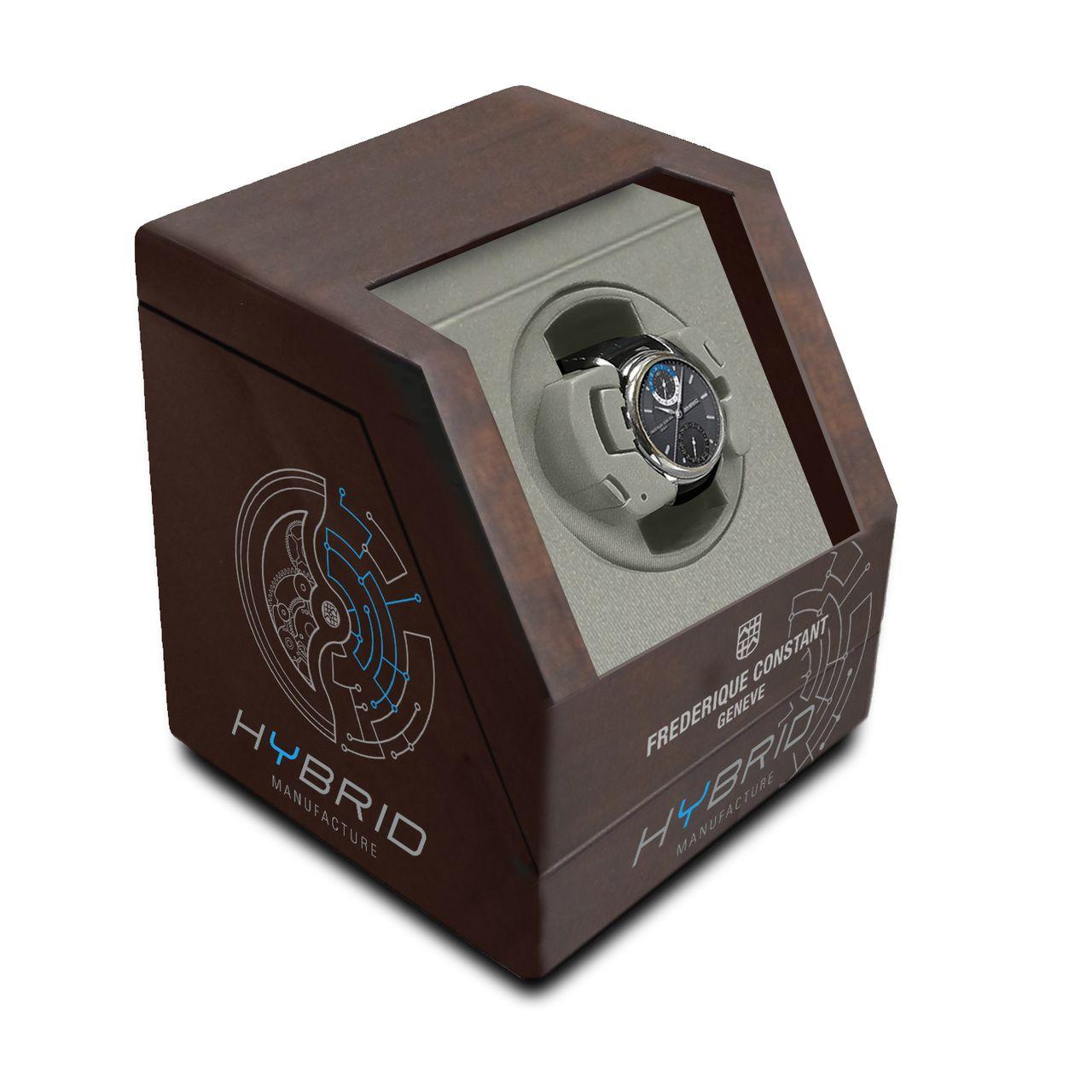Frédérique Constant Hybrid Manufacture - az óra mechanikus és elektronikus részét is ellátja energiával