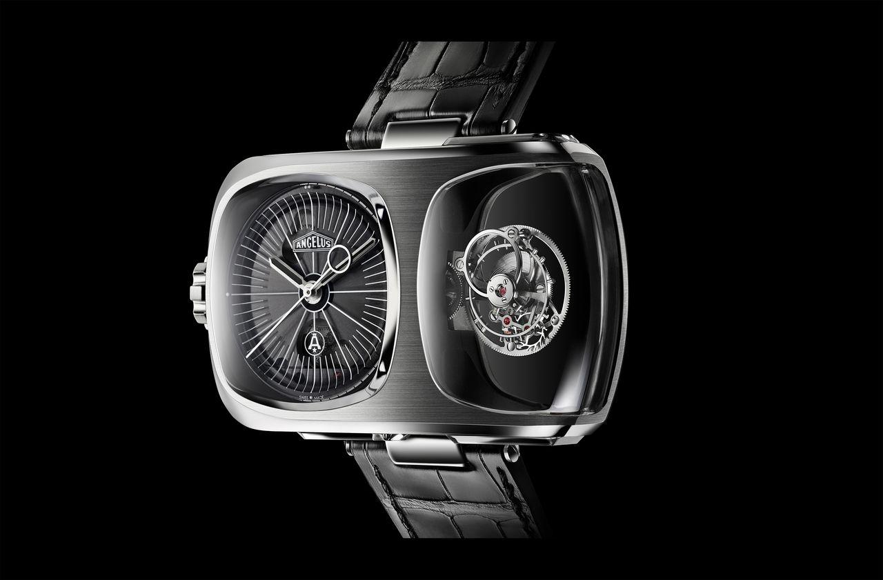 Az Angelus U10 – egy igazán eredeti, de ha úgy tetszik, valóban négyszögletes óra!