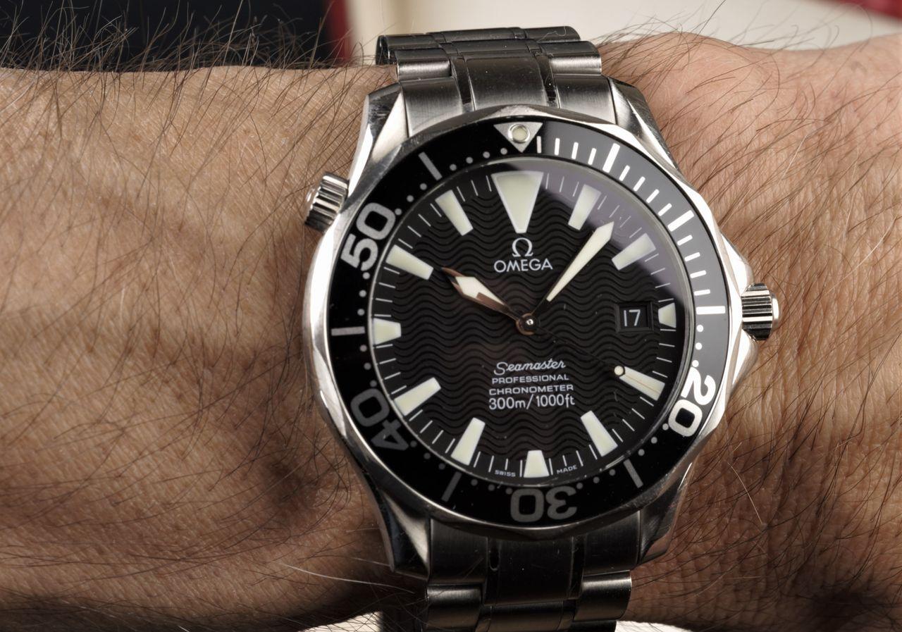 Omega Seamaster Professional Diver - ma is minden további nélkül van helye  a csuklón   Fotó b091c6fa30