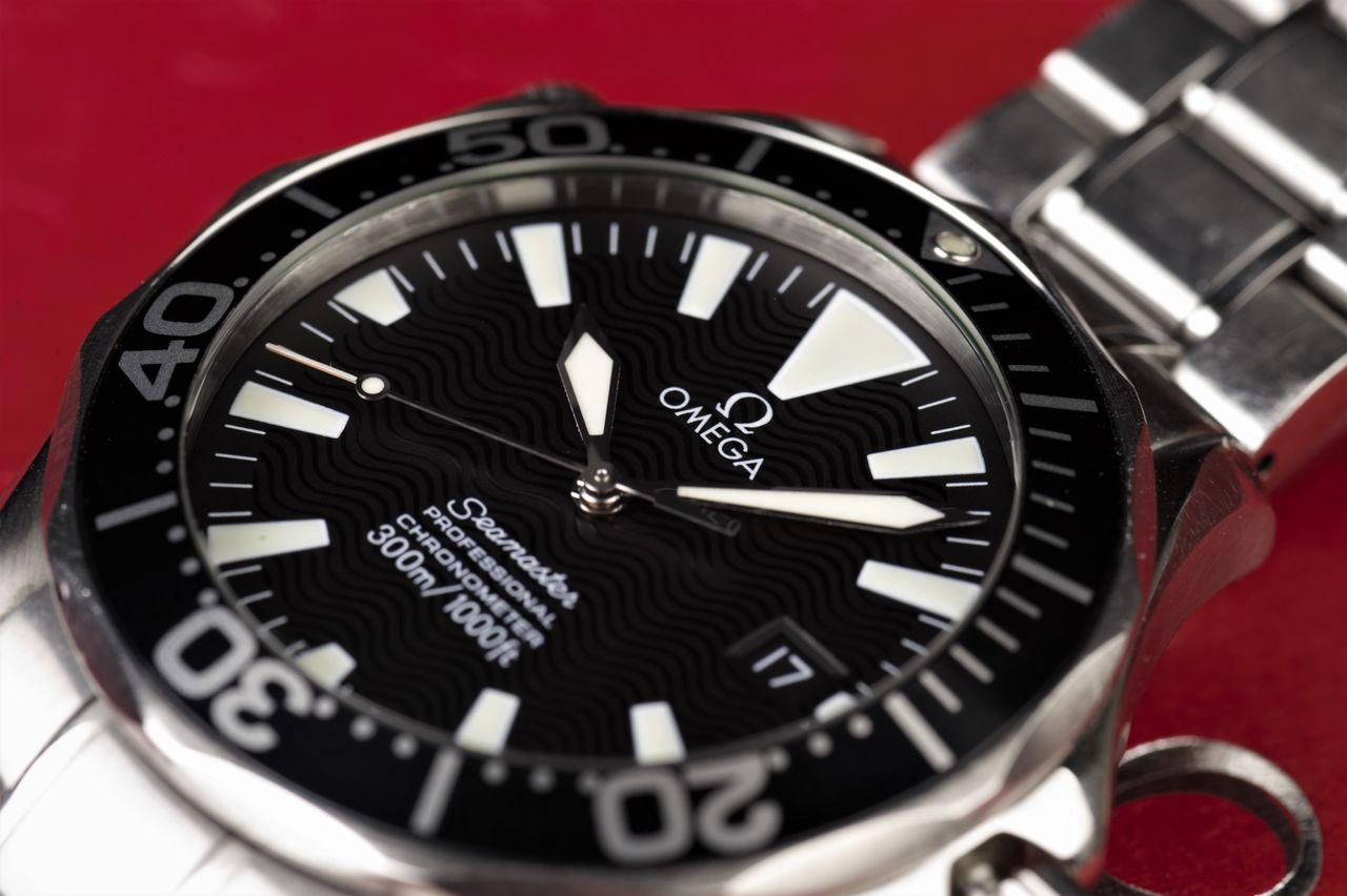Omega Seamaster Professional Diver - a számlap továbbra is makulátlan / Fotó: Venicz Áron