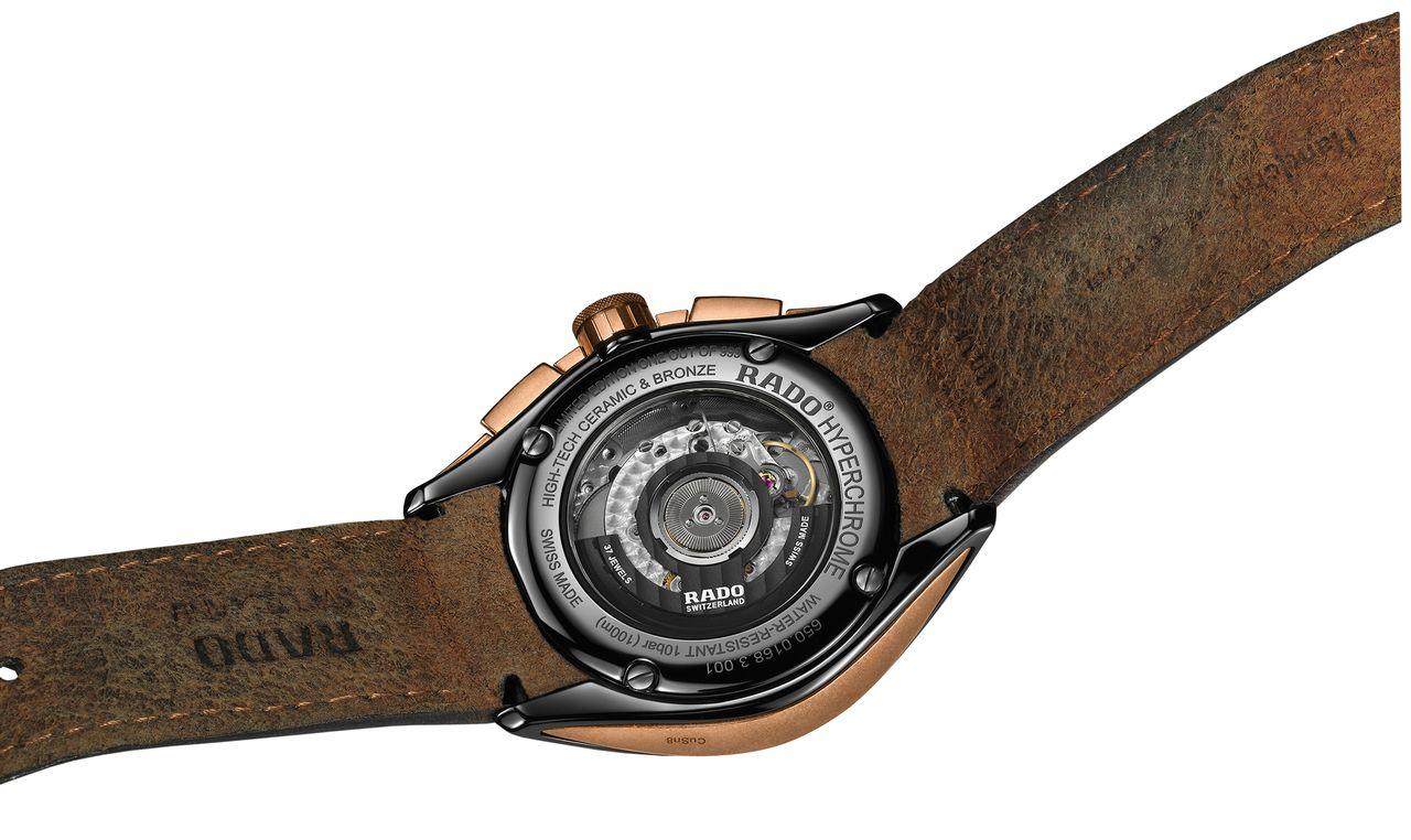 Rado HyperChrome Chronograph Automatic Bronze - legalább a rotor egyedi, ha már a szerkezet nem az