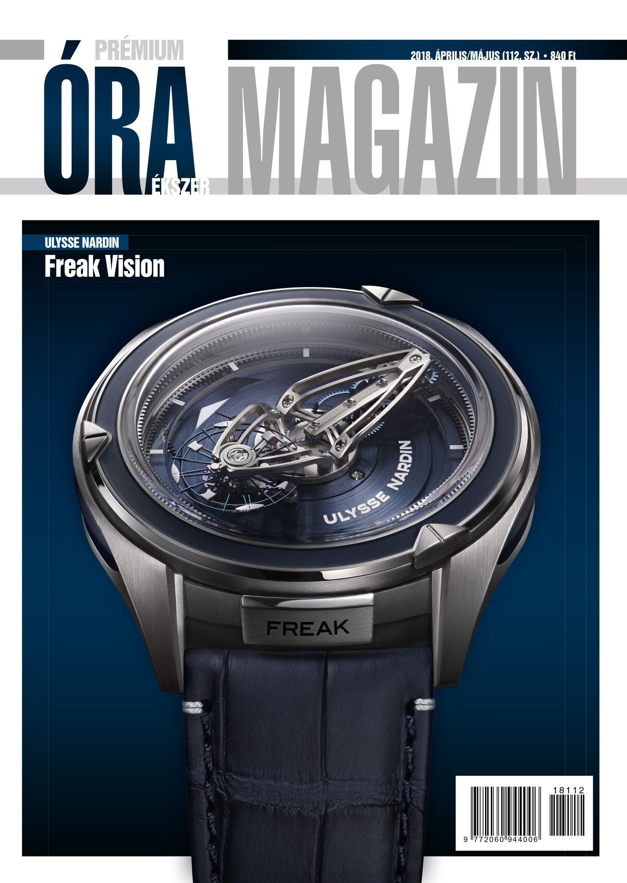 Prémium Óra Ékszer Magazin 112 (2018 Április / Május)