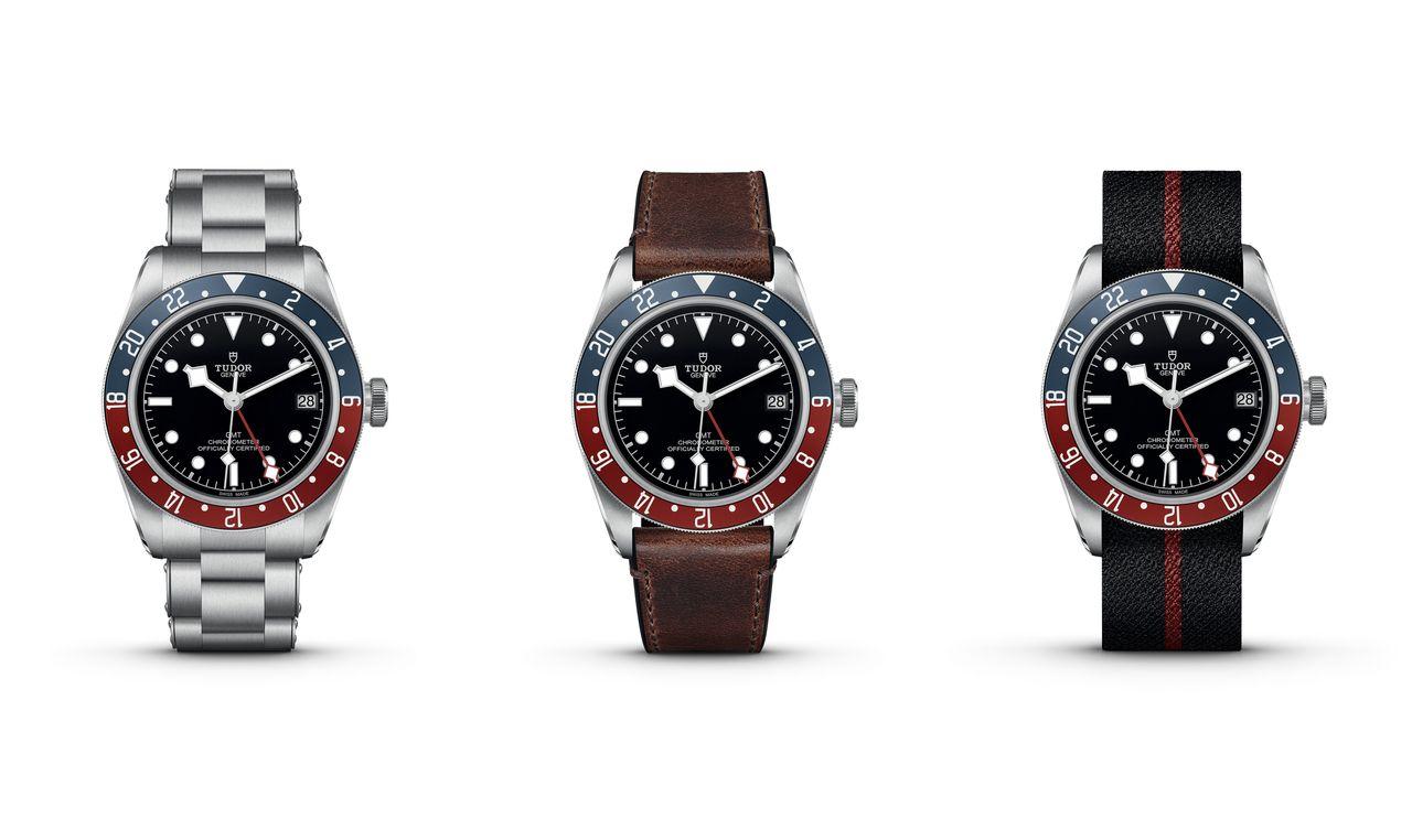 Tudor Black Bay GMT - nemcsak fémcsattal kapható a pepsi-lünetta
