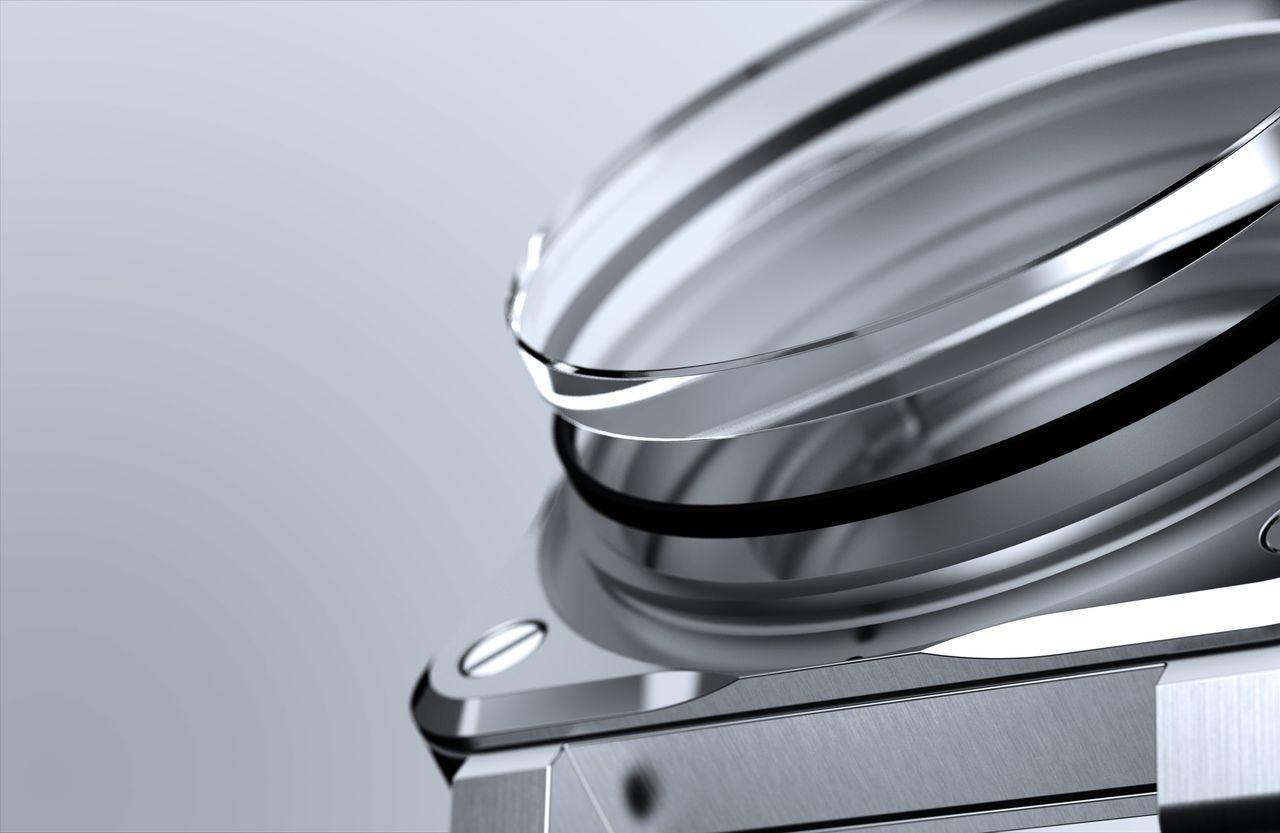 Bell&Ross BR03-92 Diver Blue - a szokásos 1,5 mm helyett 2,85 mm vastag a zafírüveg