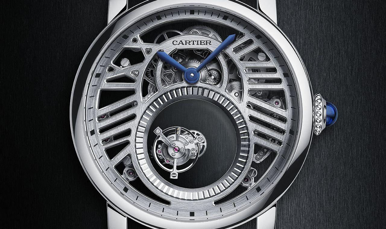Cartier Rotonde de Cartier Skeleton Mysterious Double Tourbillon