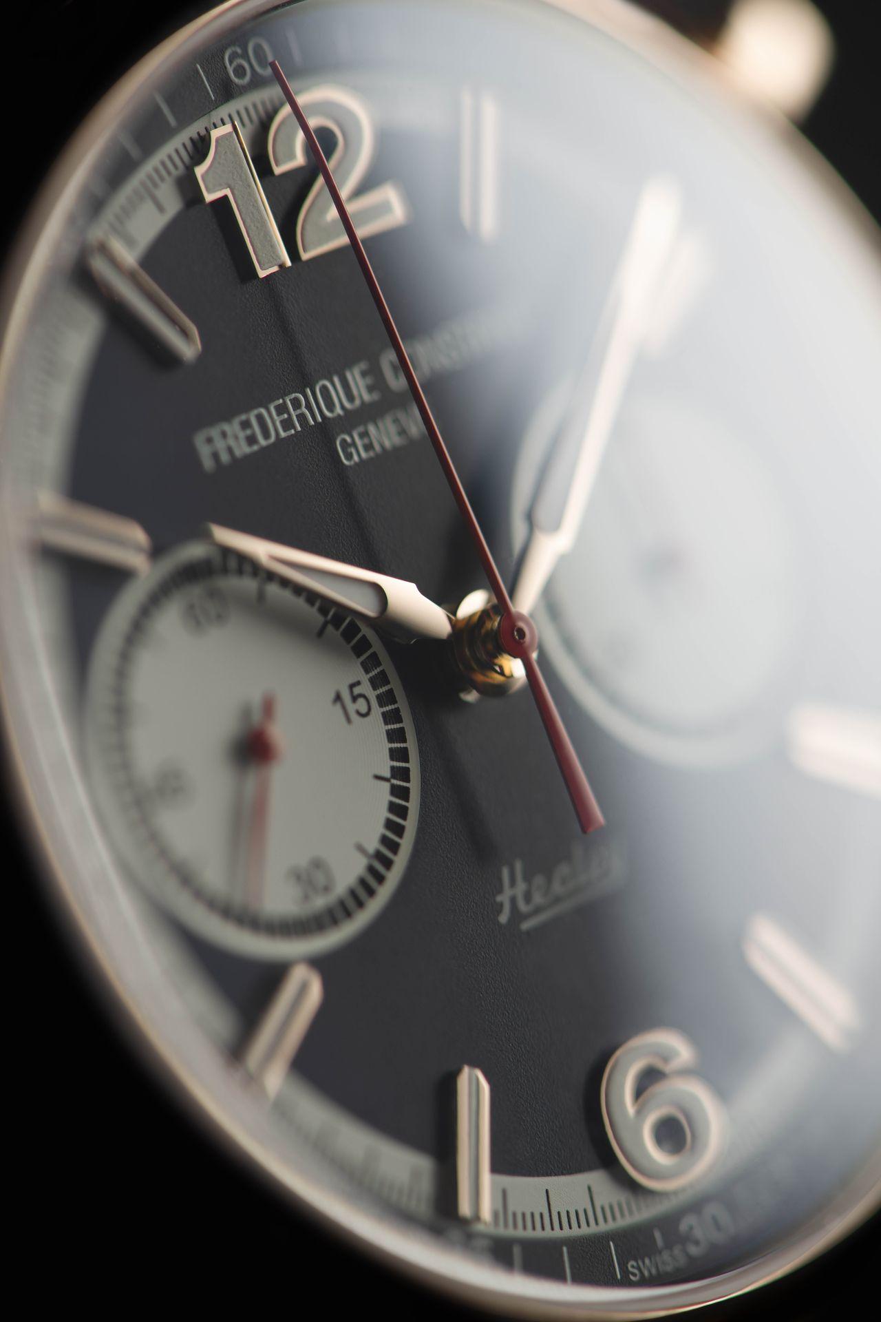 Frédérique Constant Vintage Rallly Chronograph Automatic - nincs motorsportos óra piros mutatók nélkül