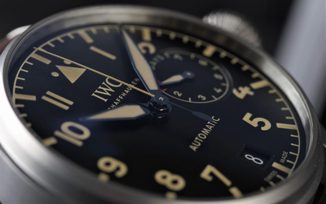 IWC Big Pilot's Watch Heritage - A leolvasásra nem lehet panasz / Fotó: Venicz Áron