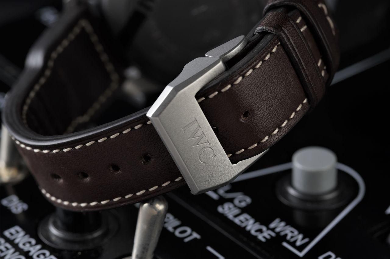 IWC Big Pilot's Watch Heritage - Prémium órához prémium bőrszíj / Fotó: Venicz Áron