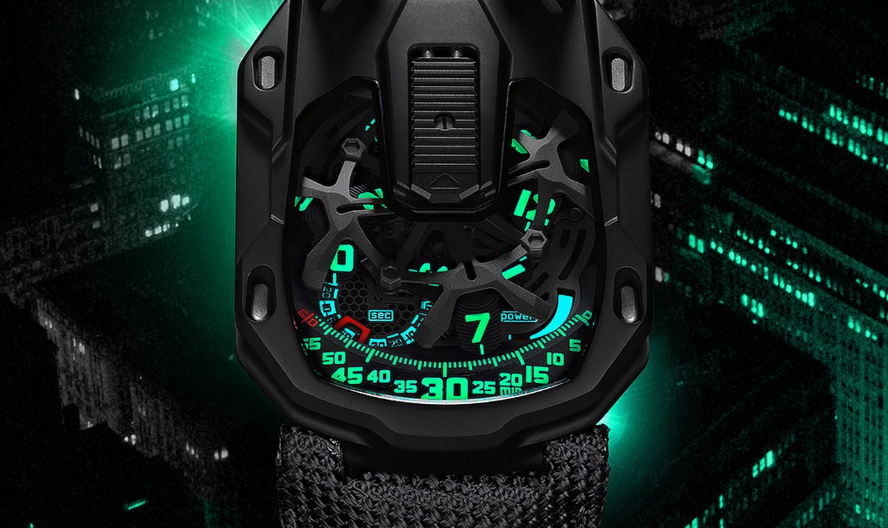 Urwerk UR-105 CT Kryptonite