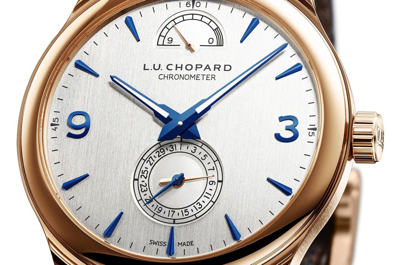 Chopard L.U.C Quattro - tipikus L.U.C számlap dinamizálva