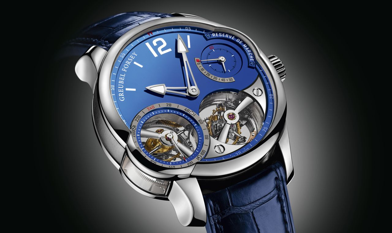 Greubel Forsey Quadruple Tourbillone Blue
