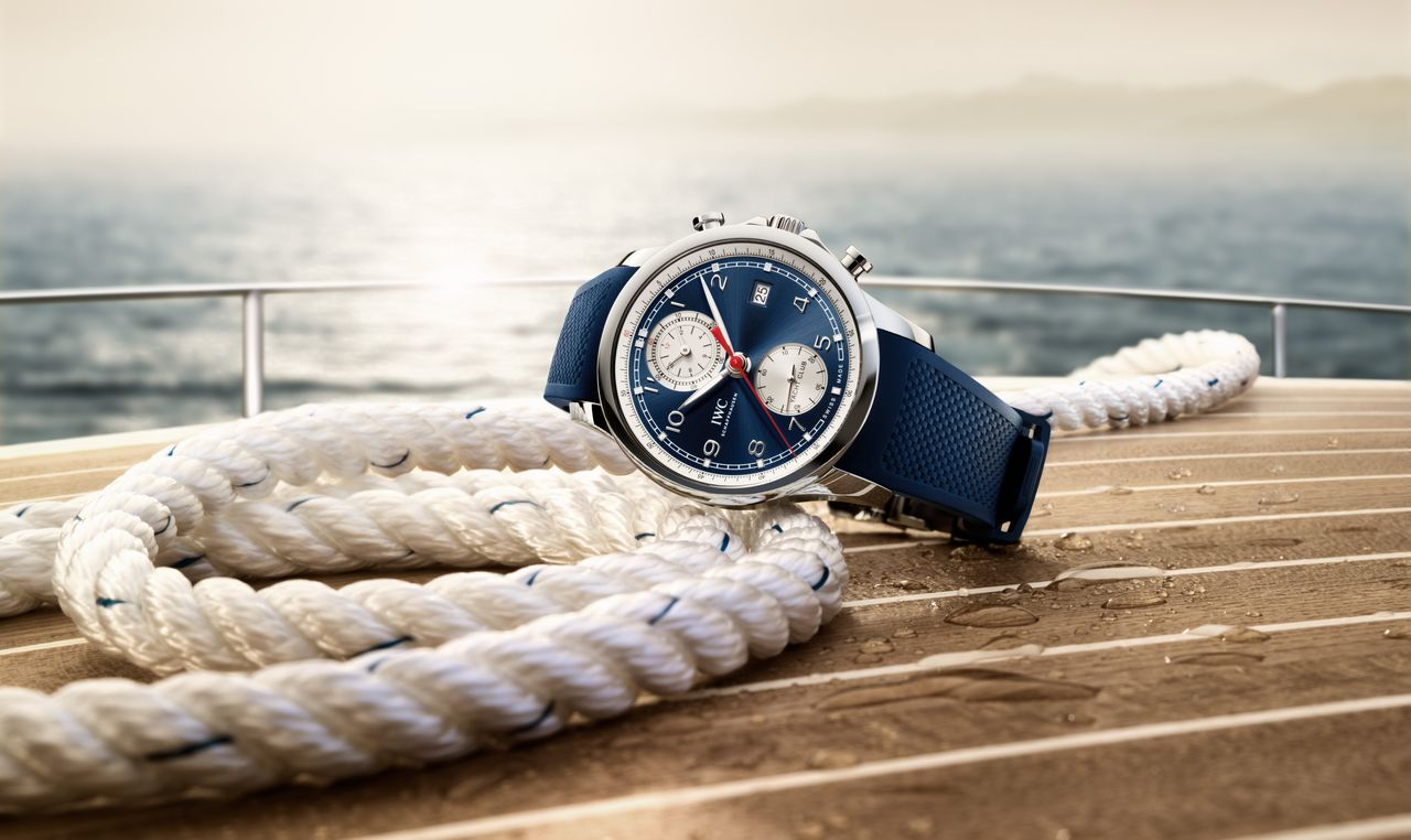 IWC Portugieser Yacht Club Summer Edition