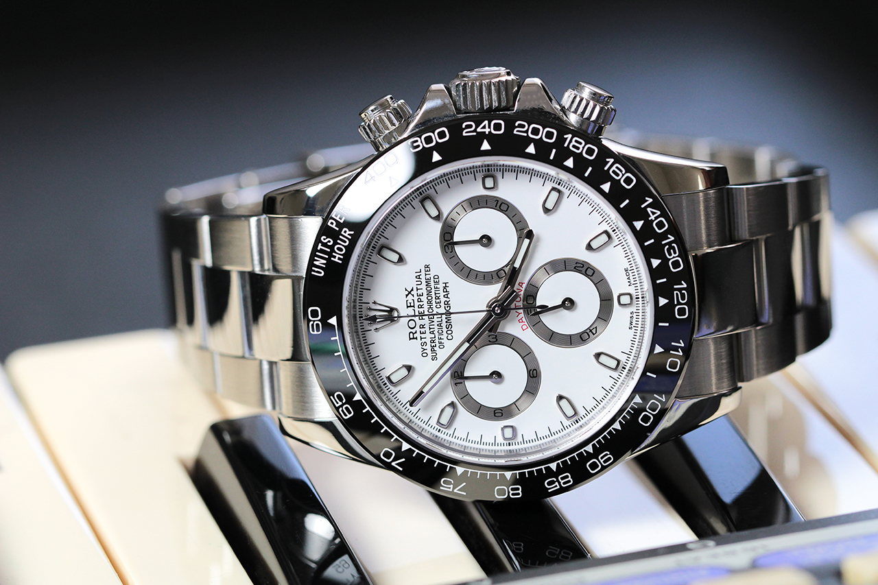 Rolex Daytona optikai tuning