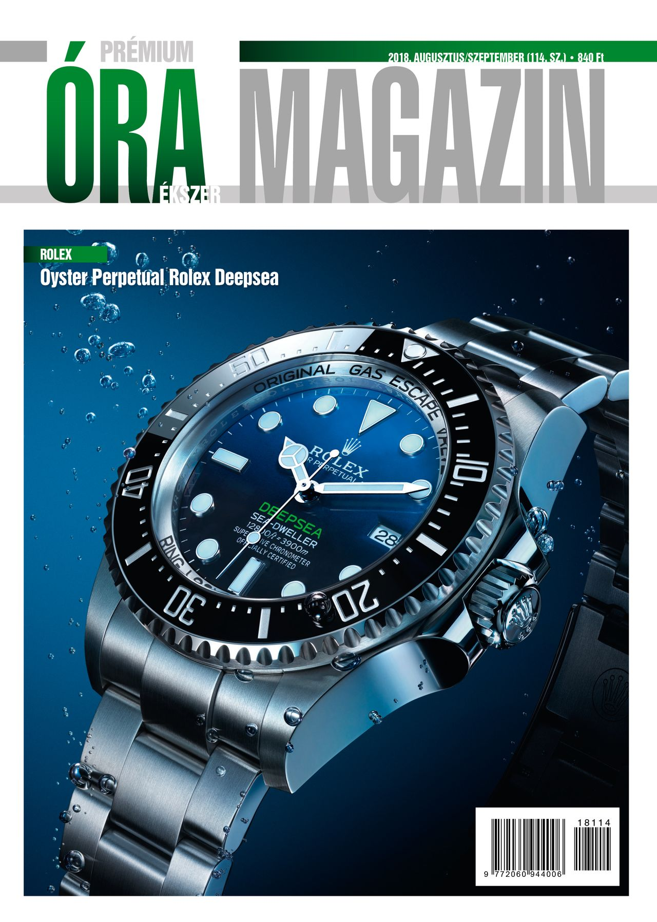 Prémium Óra Ékszer Magazin 114 (2018 Augusztus / Szeptember)