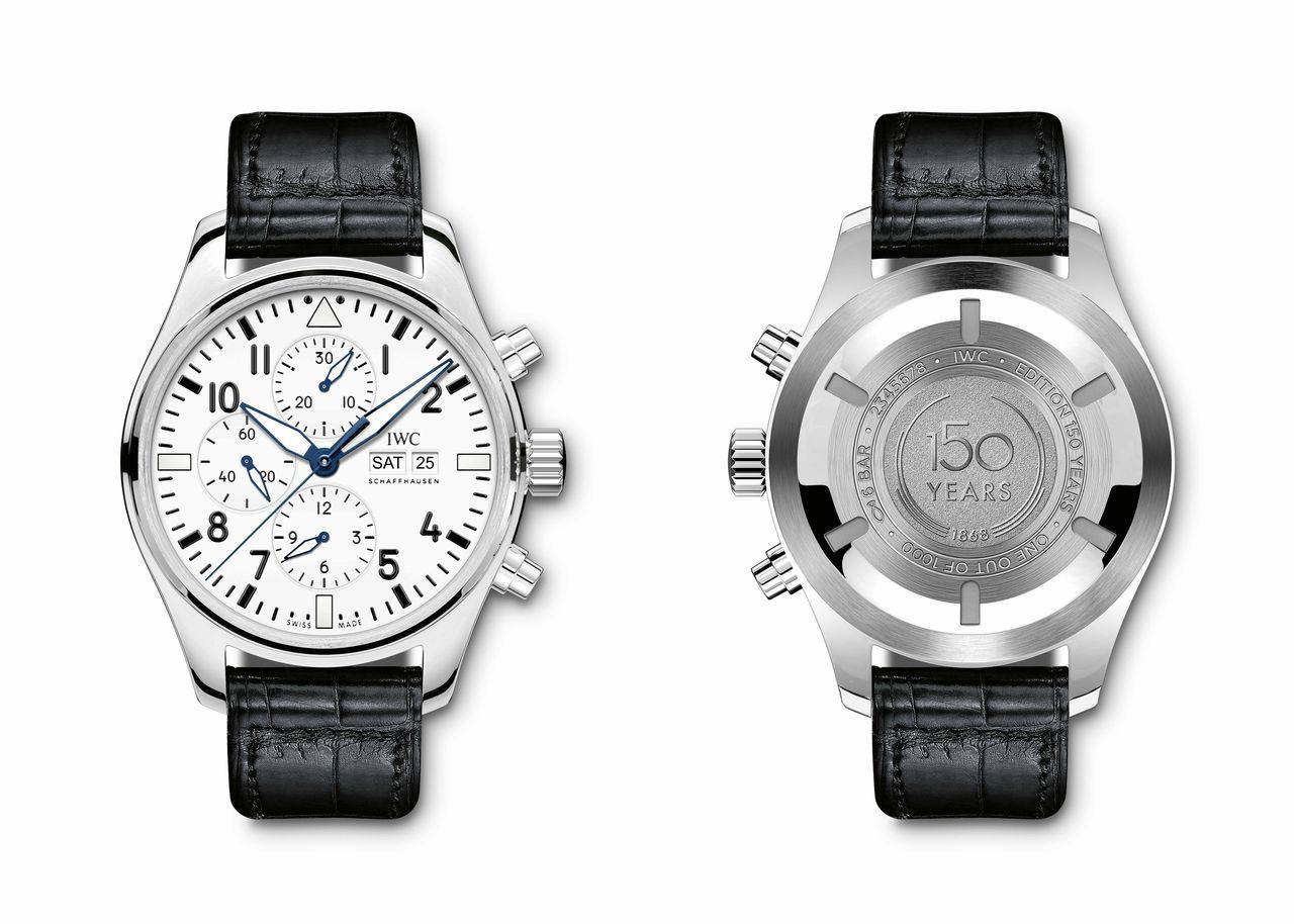 "IWC Pilot's Watch Chronograph Edition ""150 Years"" - van kiállása"