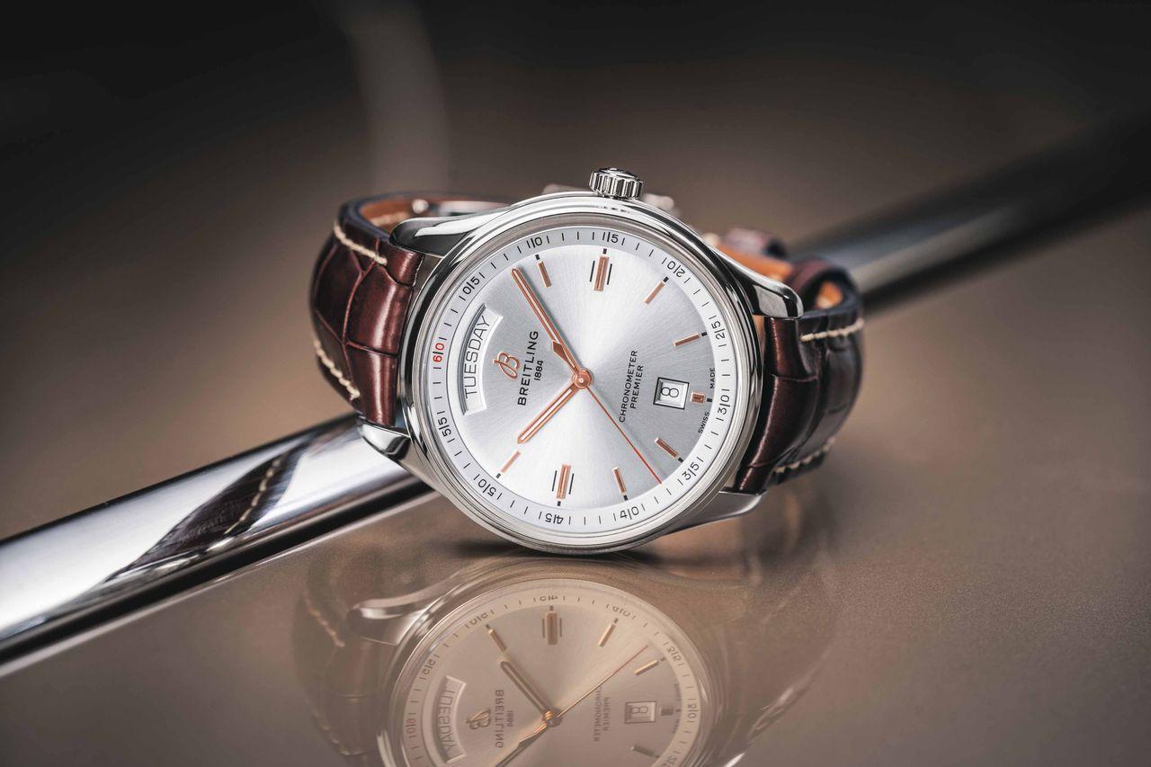 Breitling Premier Automatic Day & Date - jó vastagon fogott a toll. Kérdés, hogy a név elég lesz-e sikerhez.