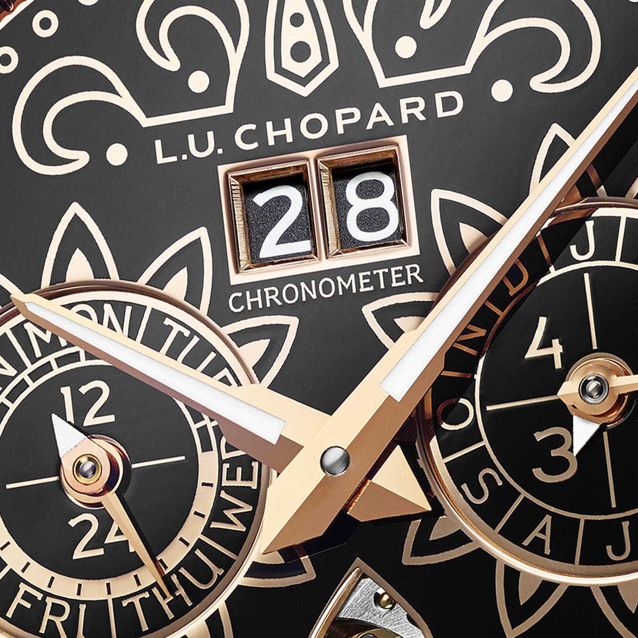 Chopard L.U.C Perpetual T Spirit of la Santa Muerte - a leolvasás könnyedsége most nem volt szempont, de így elég elfogadható