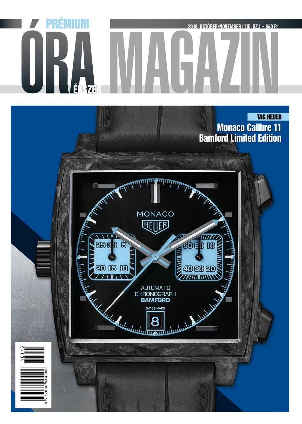 Prémium Óra Ékszer Magazin 115 (2018 Október / November)