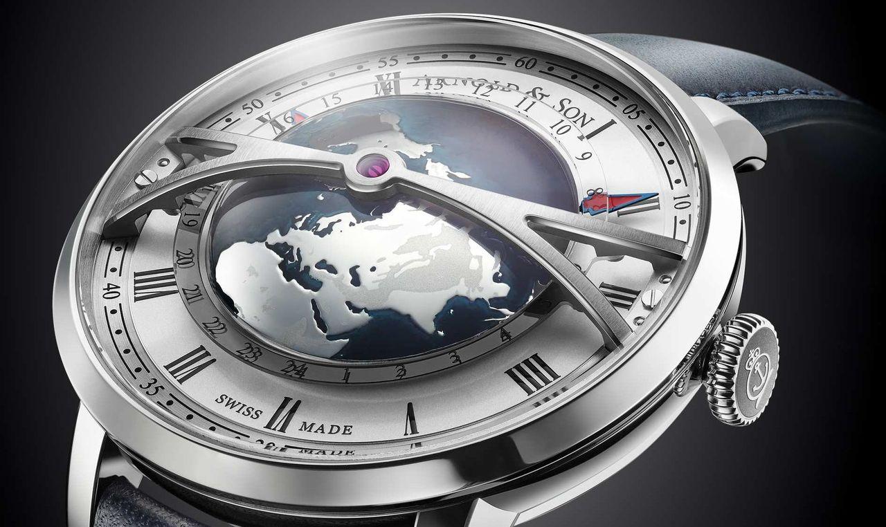 Nem szokványos GMT óra