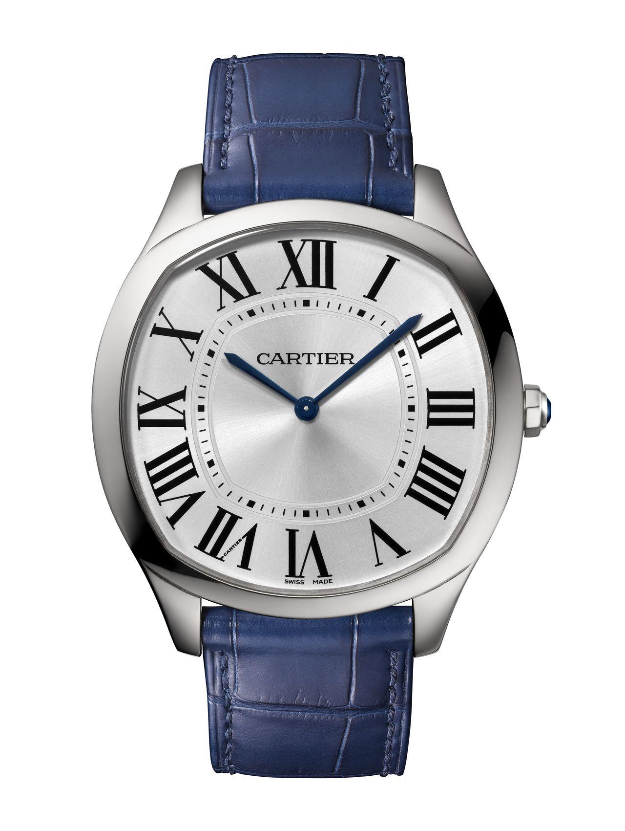 Cartier Drive de Cartier Extra Falt - fehéraranyban kimondottan diszkrét