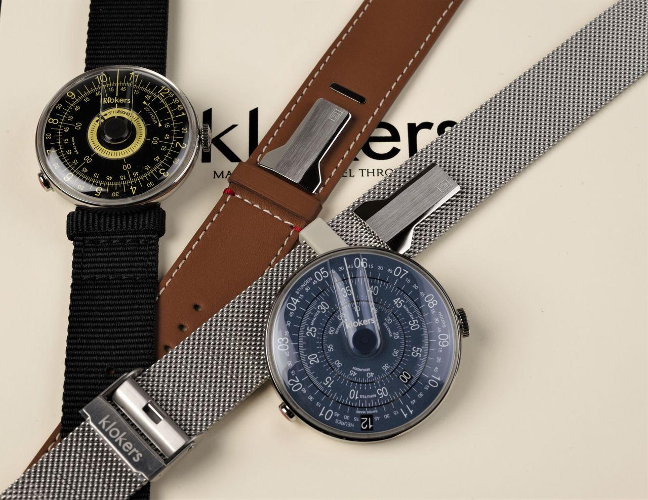 Klokers Klok-08 és Klok-01 Mindnight Blue - ennél lényegesen gazdagabb a szíjválaszték