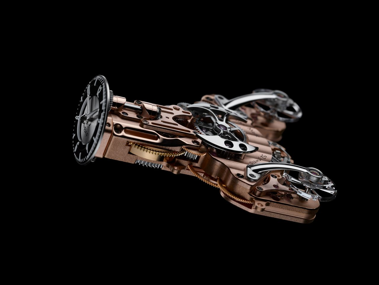 "MB&F Horological Machine No. 9 ""Flow"" - volt már"