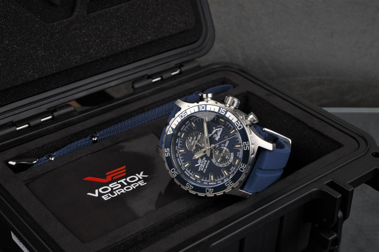 Vostok Europe The Authentic Big Blue Limited Anniversary Edition - stílusosan szárazdobozban érkezik - Fotó: Venicz Áron