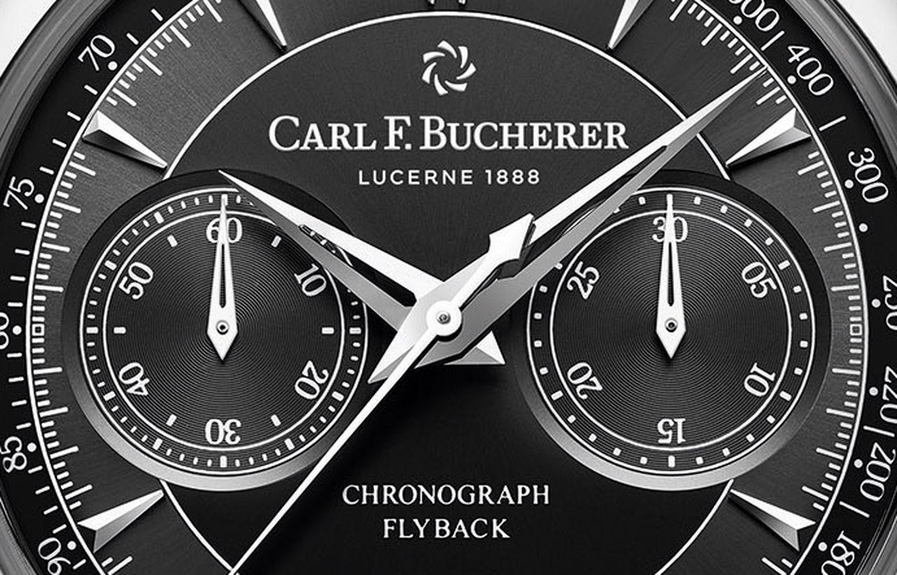 Carl F. Bucherer Manero Flyback Chronograph - amikor figyelnek a részletekre