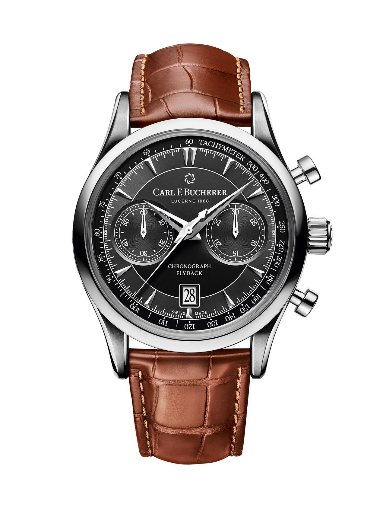 Carl F. Bucherer Manero Flyback Chronograph - egy klasszikus megjelenés