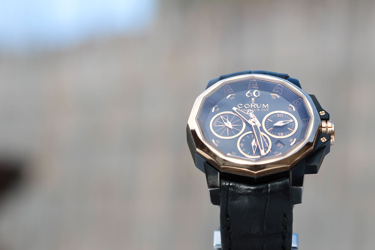Corum Admiral's Cup Challenge 44 Black Chronograph