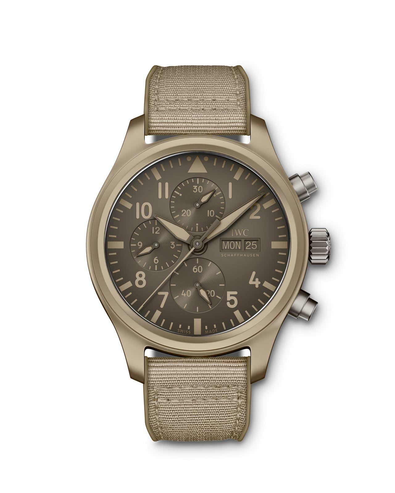 "IWC Pilot's Watch Chronograph TOP GUN Edition ""Mojave Desert"" - lassan évszázados formatervezési elvek, mégis friss"